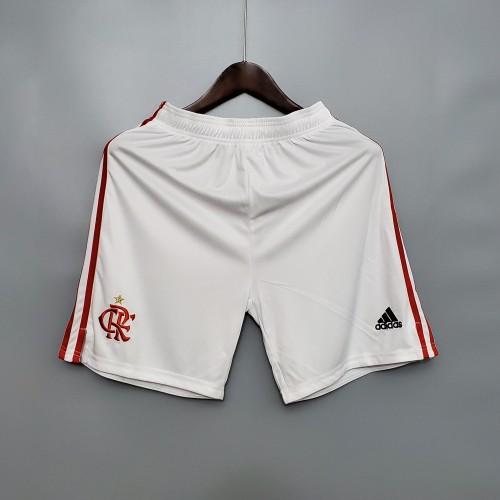 2020  Flamengo Home White Shorts