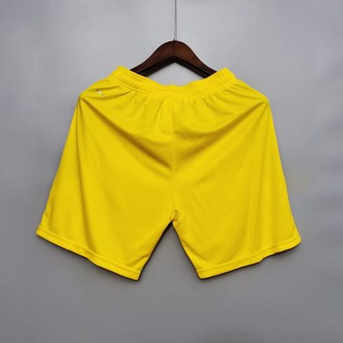 2020  Dortmund Away Yellow Shorts