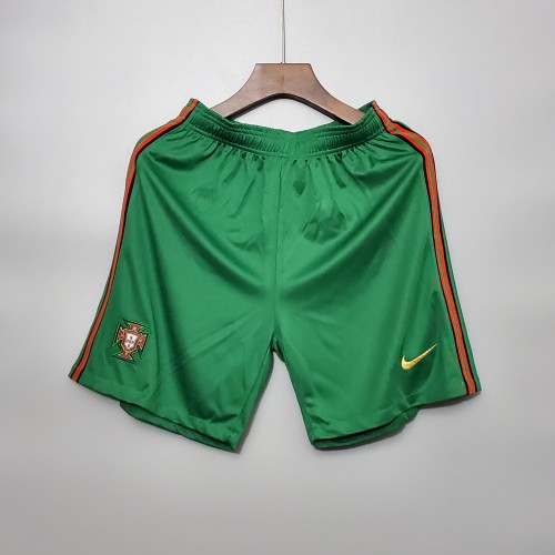 2020  Portugal Home Green Shorts