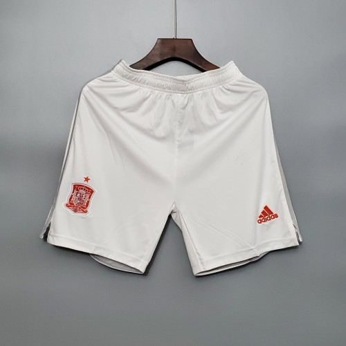 2020  Spain Away White Shorts