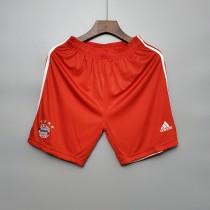 2020  Bayern Home Red Shorts