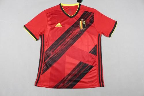 2020 Belgium Home  Fans Jersey