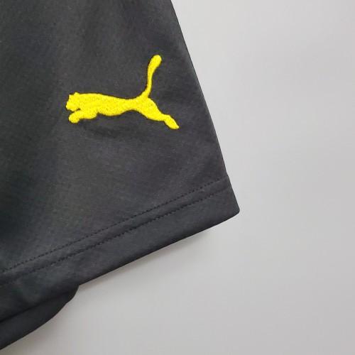 2020  Dortmund Home Black Shorts