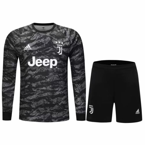 19-20 Juventus Goal Keeper Black Fans Jersey