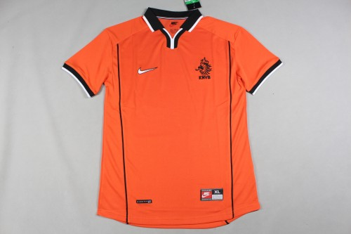 1998 World Cup Netherlands Home Retro Jersey