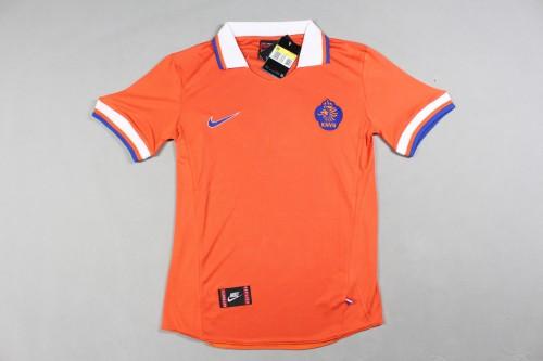 97-98 Netherlands Home Retro Jersey