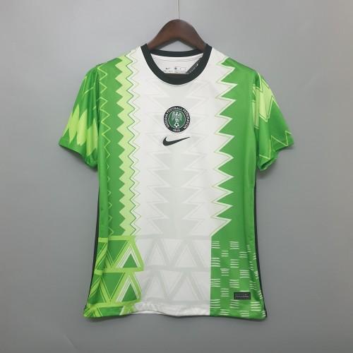 2020 Nigeria Home Fans Jersey