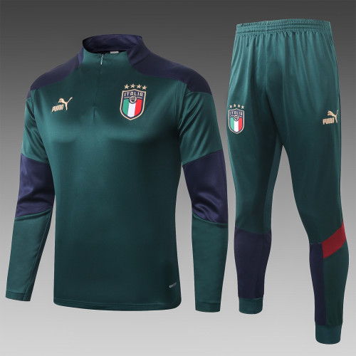 2020 Italy Green Training suit