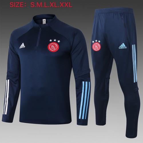20-21 Ajax Royal-Blue Training suit