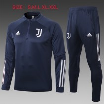 20-21 Juventus Royal-Blue Training suit