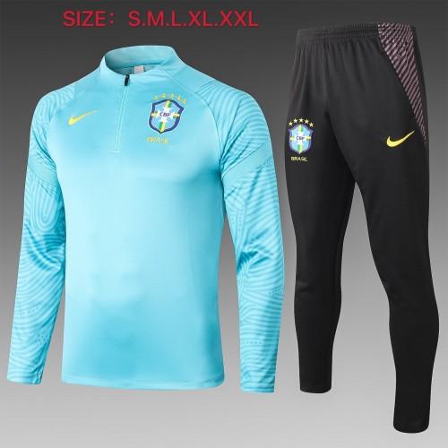 2020 Brazil Blue Training suit