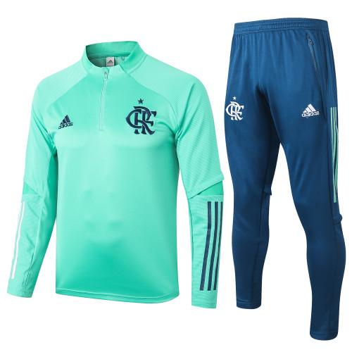20-21 Flamengo Green Training suit