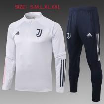 20-21 Juventus White Training suit