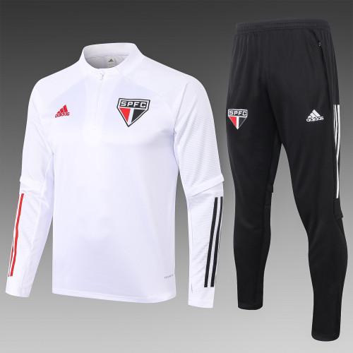 20-21 Sao Paulo White Training suit
