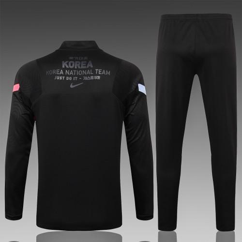 2020 Korea Black Training suit