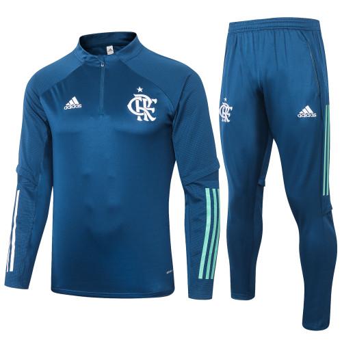 20-21 Flamengo Blue Training suit