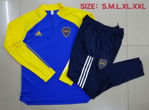 20-21 Boca Bright Blue Training suit
