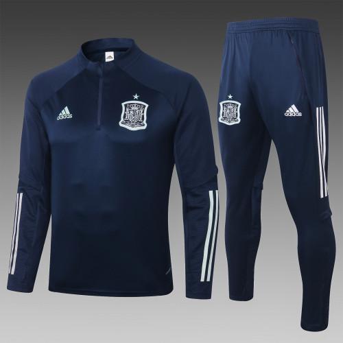 2020 Spain Royal-Blue Training suit
