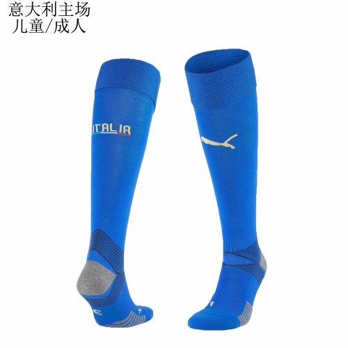 2020 Italy Home Blue socks