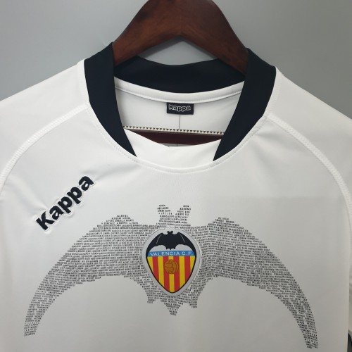 09-10 Valencia Home Short Sleeve Retro Jersey