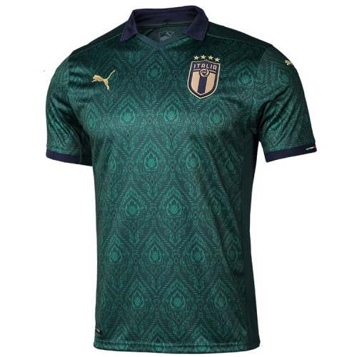 2020 Italy Third Green Fans Jersey