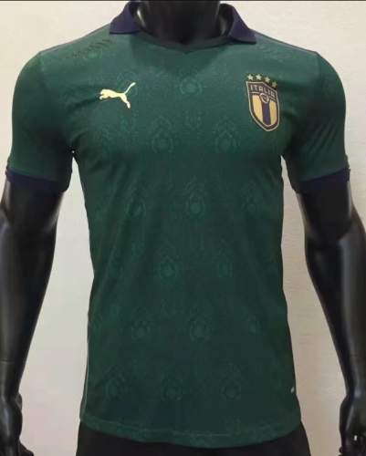 2020 Italy Third Green Player Jersey
