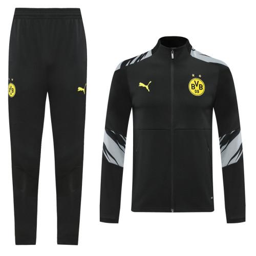 20-21 Dortmund Black Jacket Suit