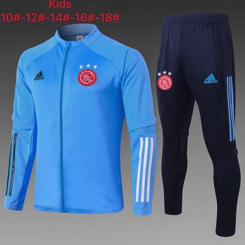 20-21 Ajax Blue Kid Jacket Suit