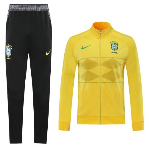 2020 Brazil Yellow Jacket Suit