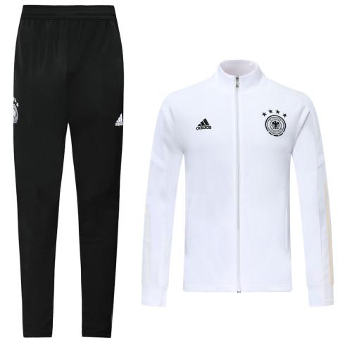 2020 Germany White Jacket Suit
