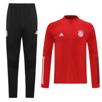 20-21 Bayern Red Jacket Suit