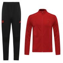 20-21 Bayern Claret Red Jacket Suit