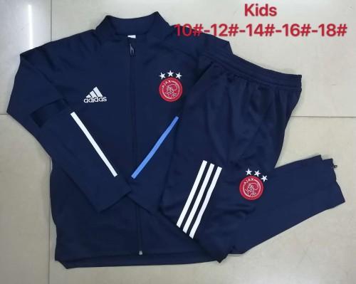 20-21 Ajax Royal Blue Kid Jacket Suit
