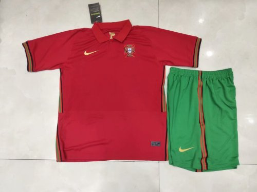 2020 Portugal Home Red Kid Kit