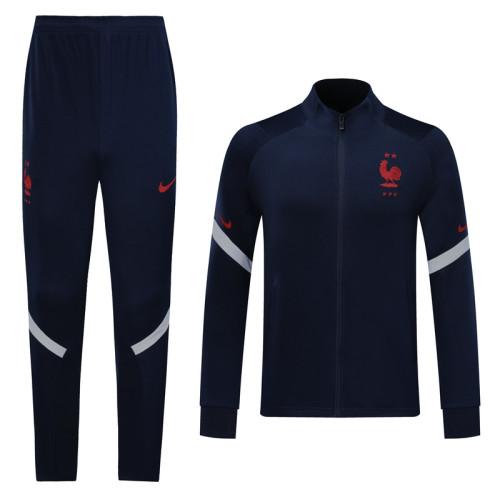 2020 Fracne Blue Jacket Suit