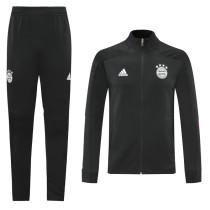 20-21 Bayern Black Jacket Suit
