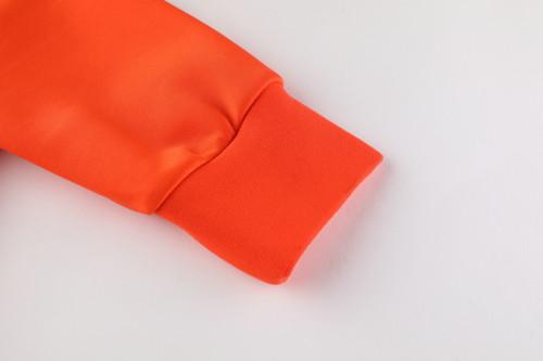 2020 Netherlands Orange Jacket Suit