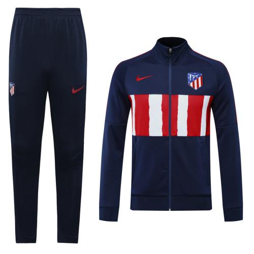 20-21 Atletico Madrid Blue Jacket Suit