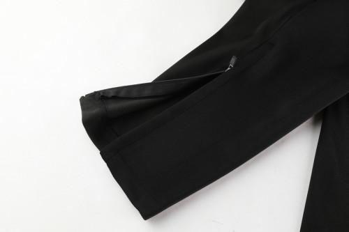 20-21Atletico Madrid Black Jacket Suit