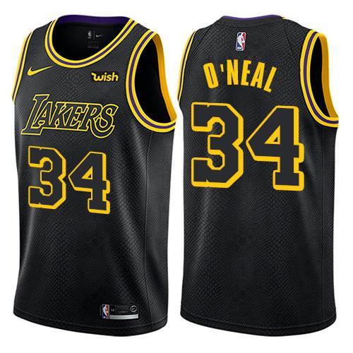 Lakers Mamba Black Hot Pressed Jersey