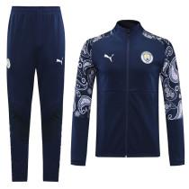 20-21 Man City Blue  Jacket Suit