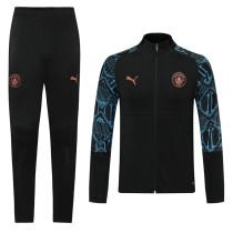 20-21 Man City Black  Jacket Suit