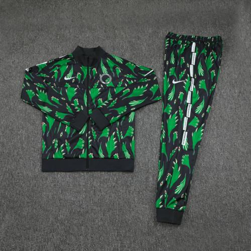 20-21 Nigeria Green Jacket Suit