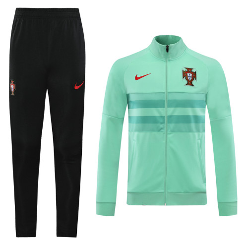 20-21 Portugal Green Jacket Suit