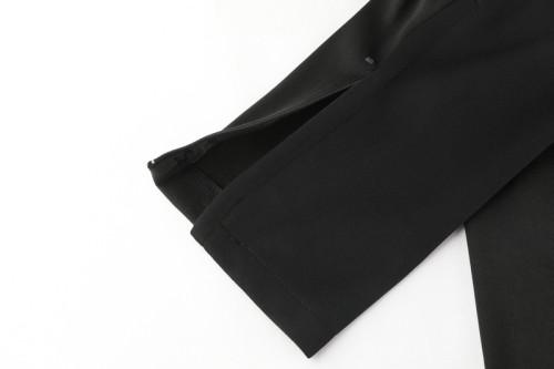 20-21 Portugal Black Jacket Suit