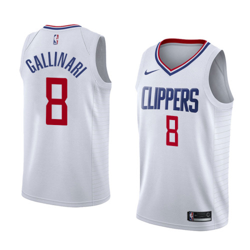 L.A. Clippers  White Jersey