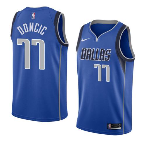 Dallas Mavericks Blue Hot Pressed Jersey
