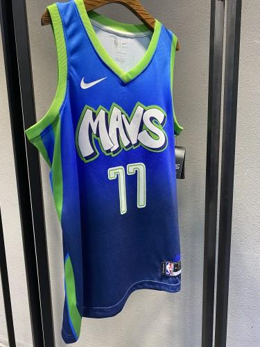 Dallas Mavericks Gradient Blue  Jersey