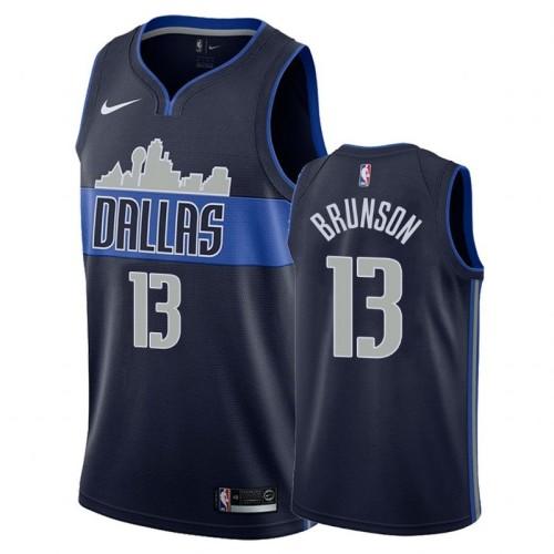 Dallas Mavericks Dark Blue Hot Pressed Jersey