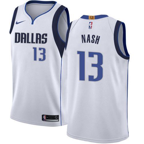 Dallas Mavericks White Jersey
